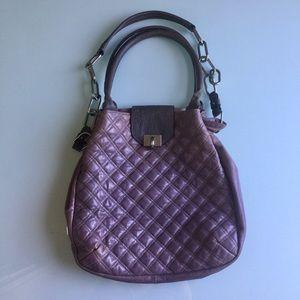 Marc Jacobs large lavender quilted bag
